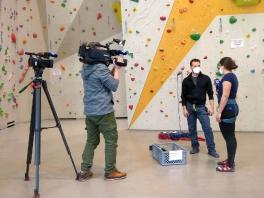 DAV Donauwörth im a.tv - Behind the scenes_6