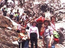 Treffen mit der AV-Jugend ÖAV Teufelstein am Dachstein 1980_4