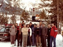 Langläufer in Leutasch  - 1983_1