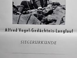 Siegerurkunde Alfred Vogel-Gedächtnislauf 1955_1