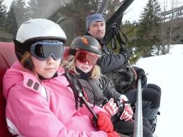 Skifahrt Hindelang 2009