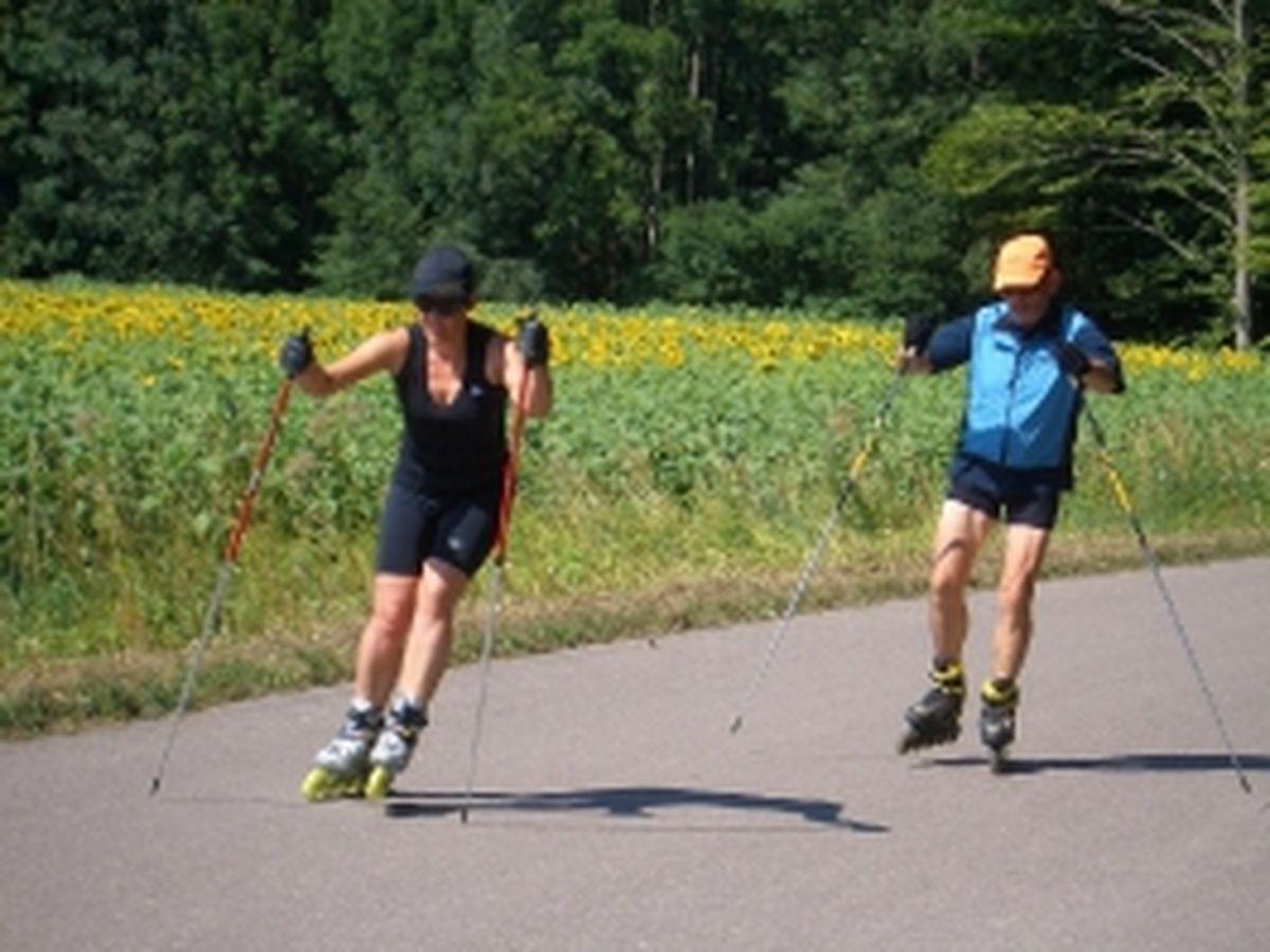 Rollerskitraining 2008