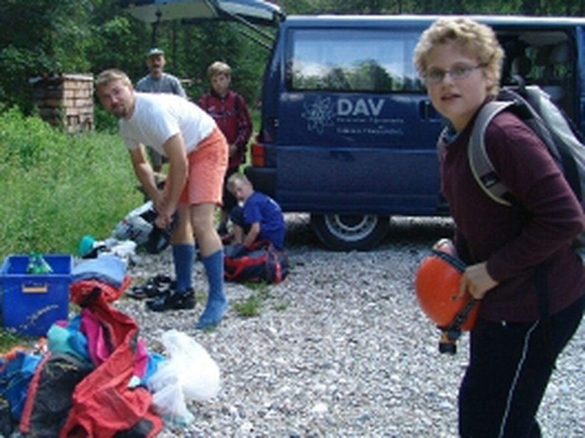 Angerloch mit Jugend 2005_7
